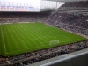 View from front row of away section Newcastle United vs Man Utd 2010-11