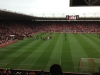 Southampton vs Man Utd - Premier League season 2012-13 - view from away end.