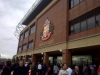 Outside Stadium of Light - May 2012