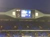 Spurs scoreboard at end of match 2011-12