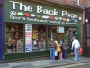 The Back Page shop in Newcastle - best football memorabilia shop in the country
