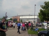 Outside JJB Stadium before Wigan vs Man Utd - May 2008