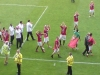 Man Utd players lap of honour at wigan in May 2008