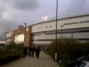 Outside DW Stadium, Wigan vs Man Utd PL Season 2011-12
