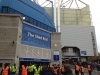 Away fans entrance to Shed End