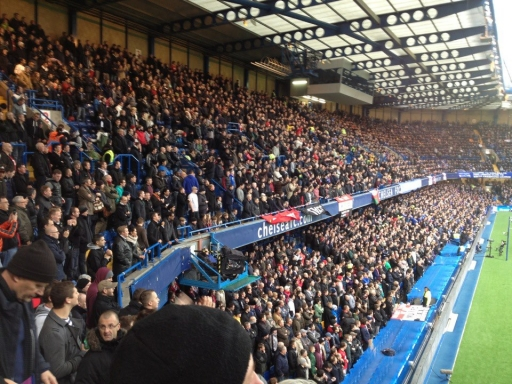 Stamford Bridge - Home To Chelsea FC