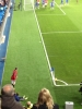 Rooney corner at Stamford Bridge, October 2012