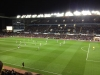 Aston Villa vs Man Utd November 2012, view from Doug Ellis Upper away section