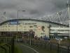Outside Reebok Stadium in 2010