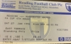 Reading vs Man Utd Ticket Stub, FA Cup 1996