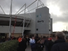Outside Liberty Stadium, December 2012