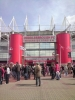 Outside The Riverside Stadium 2008