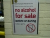 Away section alcohol ban - February 2011