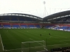 The Macron Stadium view from the Away End