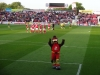 Rockin Robin in front of the Sheff Utd fans in the play off semi