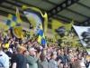 Oxford fans celebrate a goal