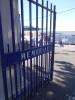 Gates to Memorial ground Bristol Rovers Sept 2015 v Oxford Utd
