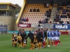 Players line up cambridge U v Pompey Oct 2015 (1-3)