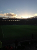 Sunset during Leicester vs Watford 2015-16