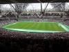 Inside London Stadium WHU v Domzale Aug 2016