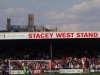 The Cathedral visible over the Stacey-West Stand