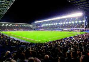 Goodison Park the home of Everton FC