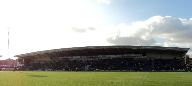 Chesterfield FC Proact Stadium West Stand