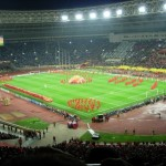 Luhzniki Stadium before the Final in 2008