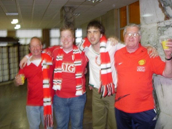 Manchester United European Cup Win 2008
