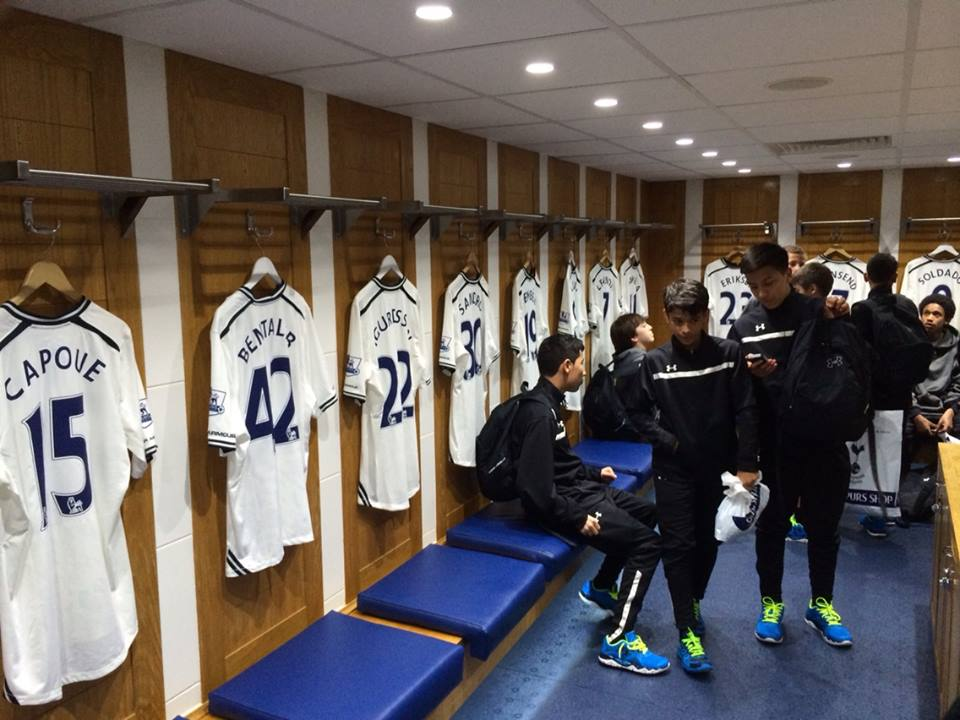 Youth PLayers at White Hart Lane
