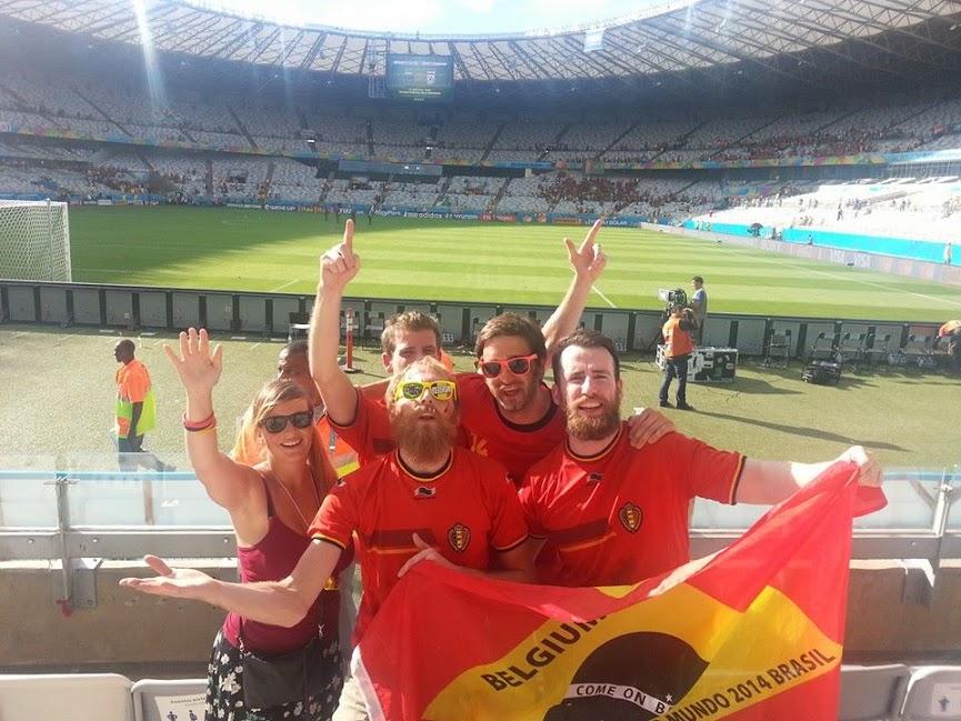 Belgium World Cup 2014 Stadium Mineirão
