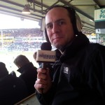 Simon Pitts Commentator for Diverse FM, the official broadcast partner for Luton Town Football Club