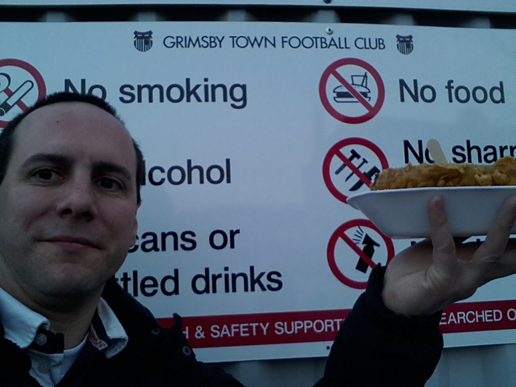 Grimsby Town Blundell Park