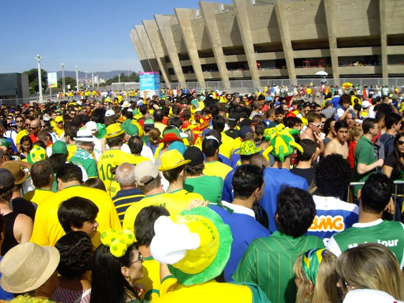 Stadium Mineirão World Cup Brazil 2014