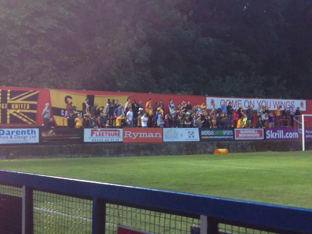 Cambridge United fc away fans