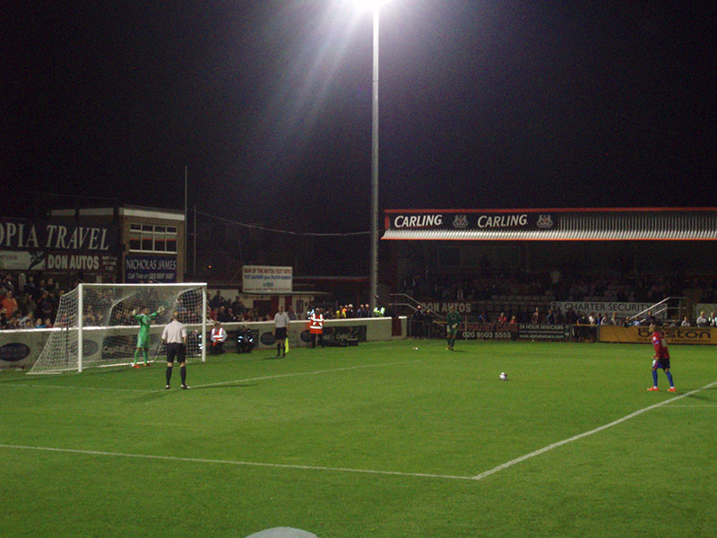 brentford dagenham capital one cup penalty shoot out