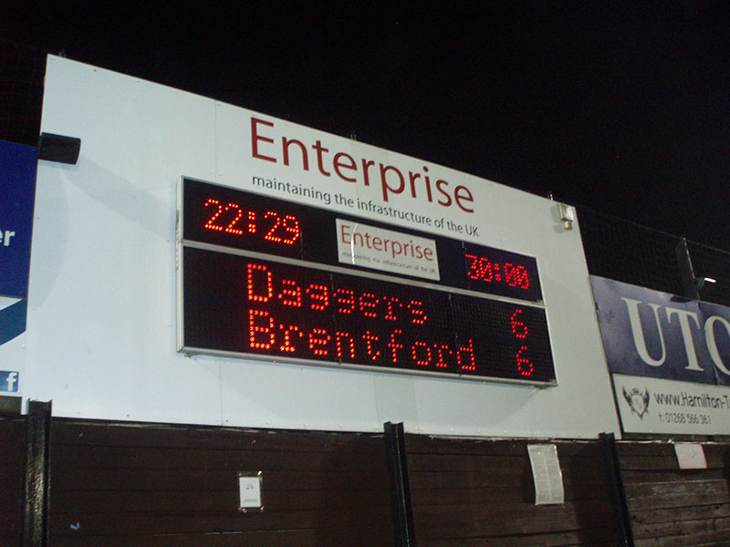 Dagenham 6 - 6 Brentford Capital One Cup