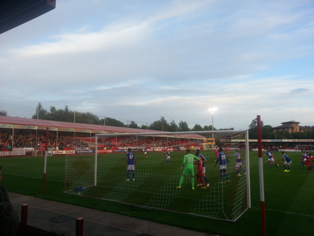 The Tractor boys at Crawley