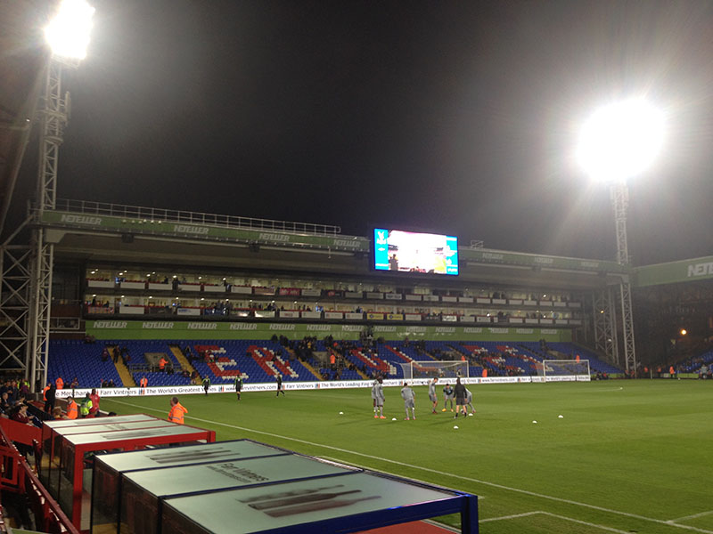 Crystal Palace v Newcastle United league cup warm up
