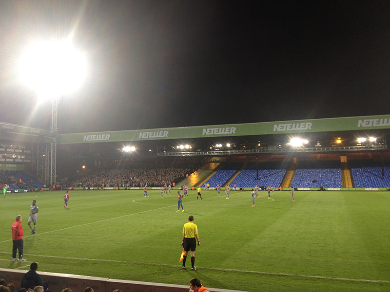 Crystal Palace v Newcastle United league cup