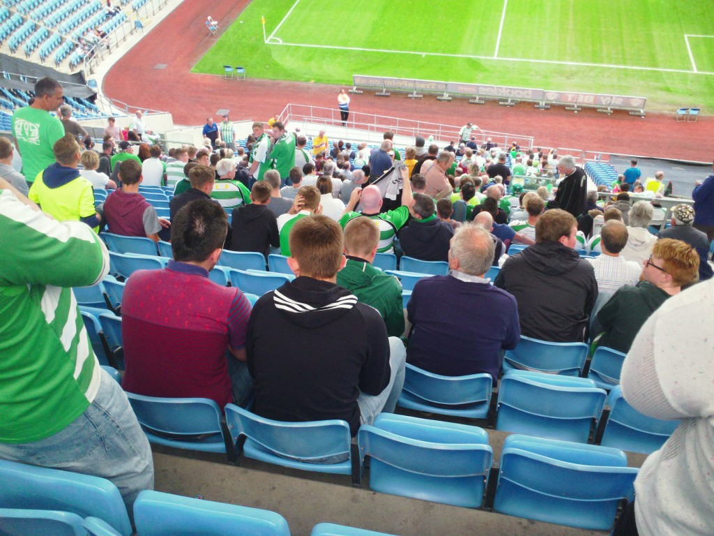 Yeovil Town away at Coventry city's Ricoh Arena