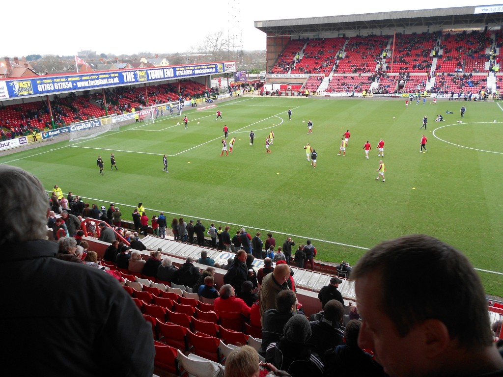 Swindon Towns County Ground