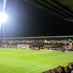 Burton Albion v Cambridge United at the Pirelli Stadium