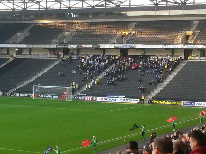 Colchester Hit For 6 At Stadium Mk The92 Blog