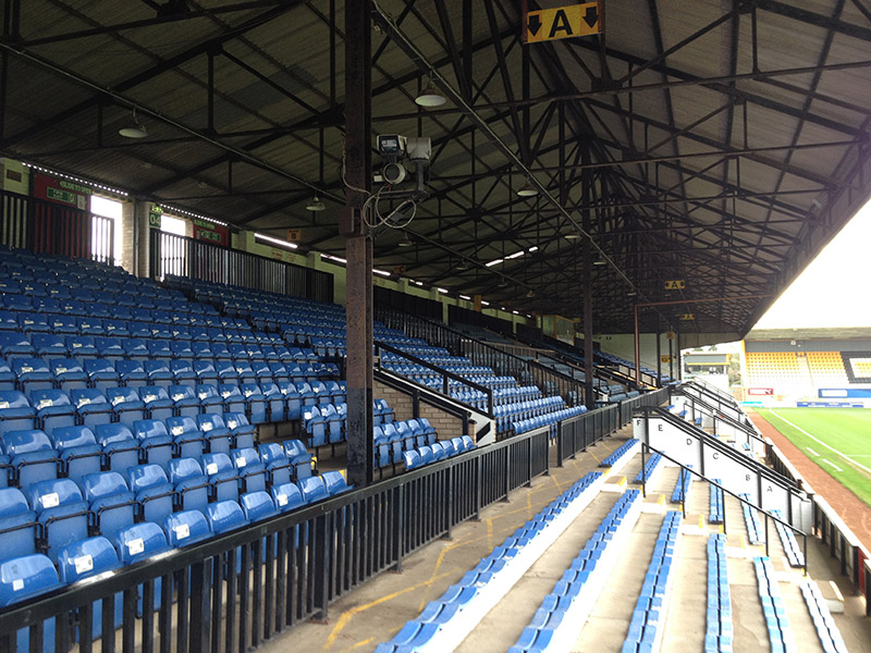 Stand at the Abbey Stadium the home of the u's
