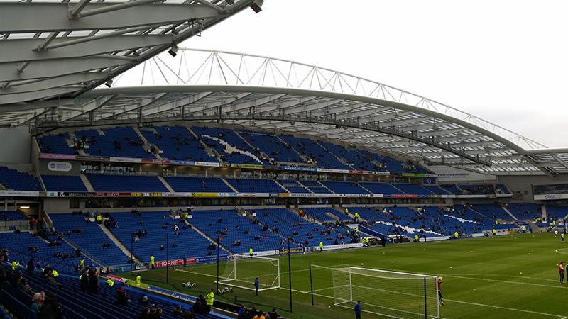 The Amex stadium brighton