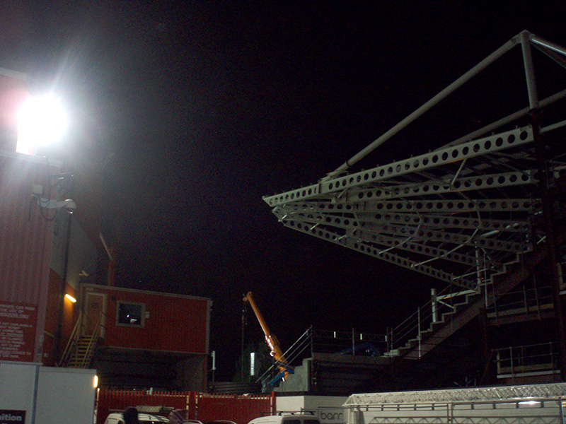 new stand being built at Ashton gate bristol city