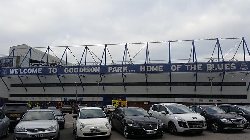 Goodison Park home of Everton