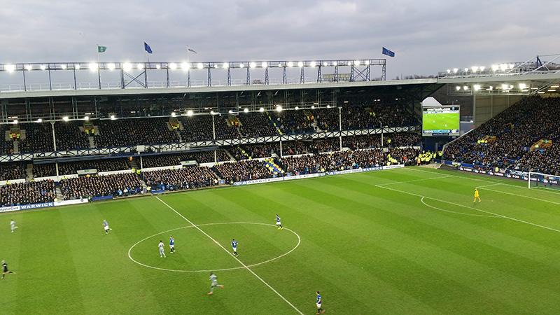 Everton's ground Goodison Park