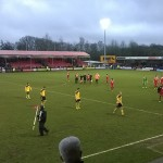 Final whistle crawley town v sheffield utd at broadfield stadium